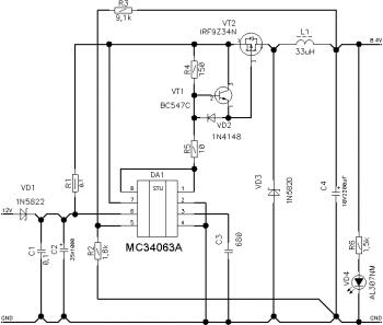 Ремонт и модернизация светодиодного аккумуляторного фонаря ...