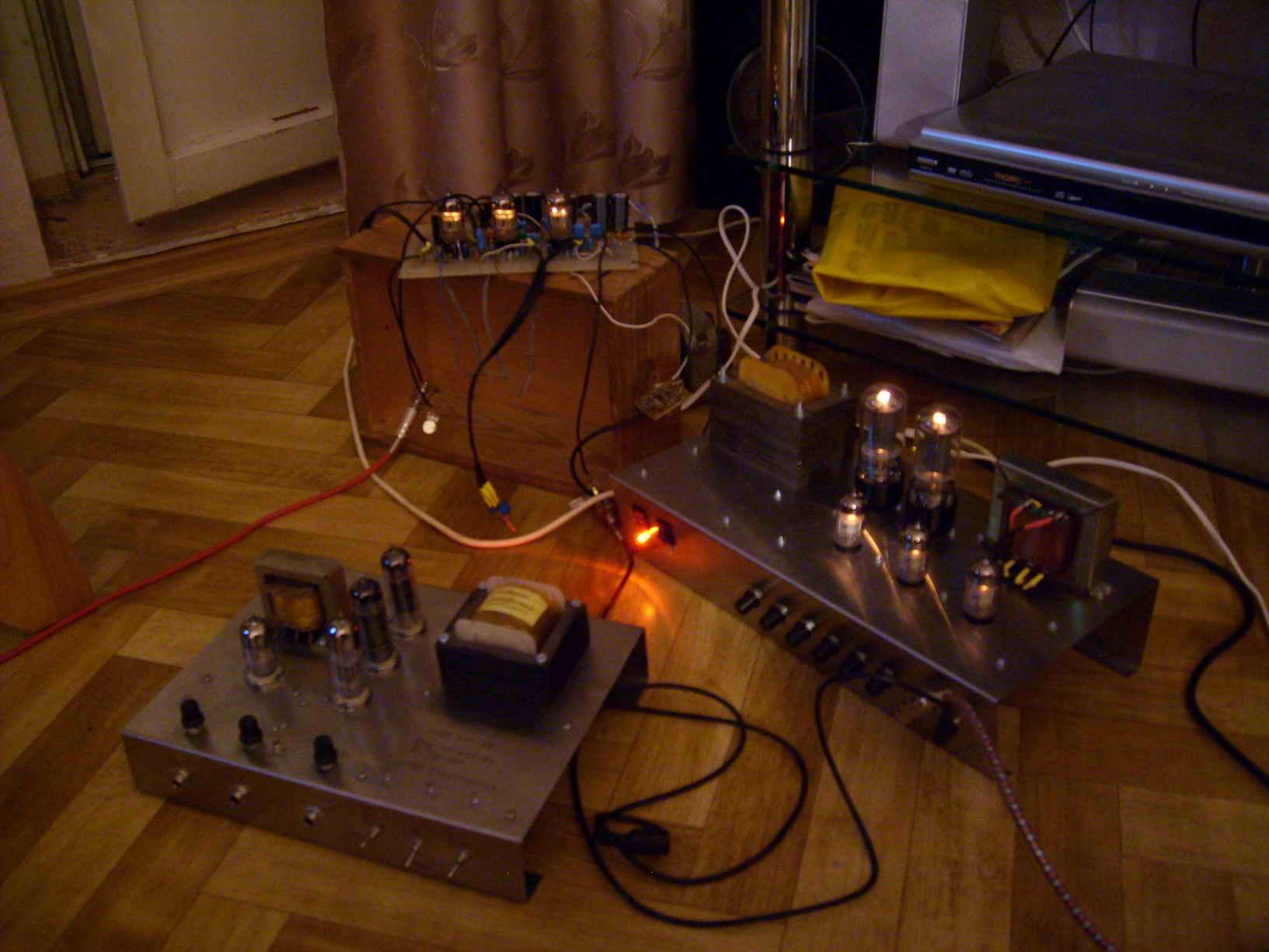 Ламповый усилитель для гитары своими руками Marshall 18. - Ari Shivelier 15