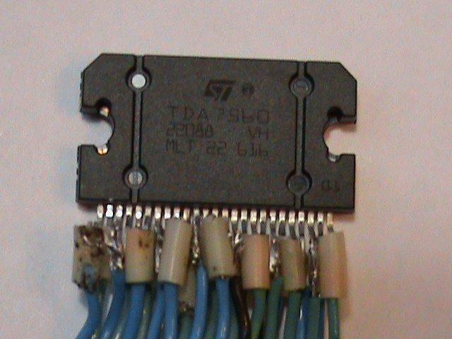 ...мой первый усилитель на TDA7560