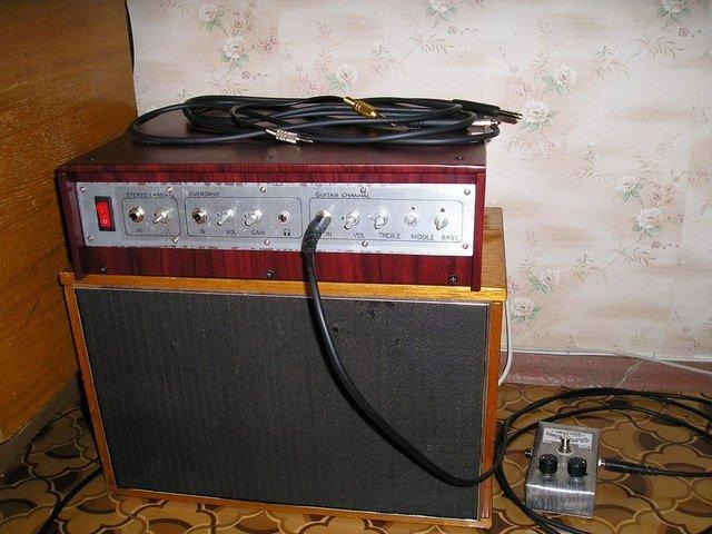 Стерео и гитарный усилитель в
