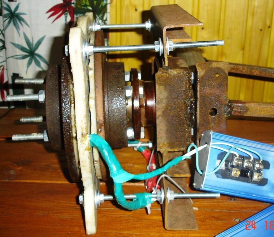 Аксиальный генератор для ветряка своими руками