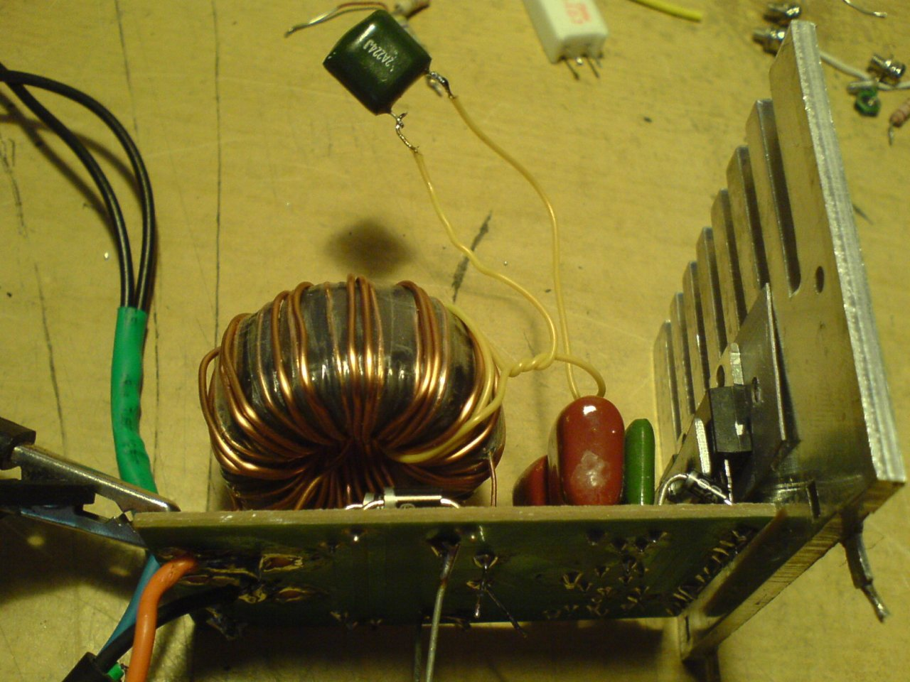 прин. схема электронного трансформатора taschibra