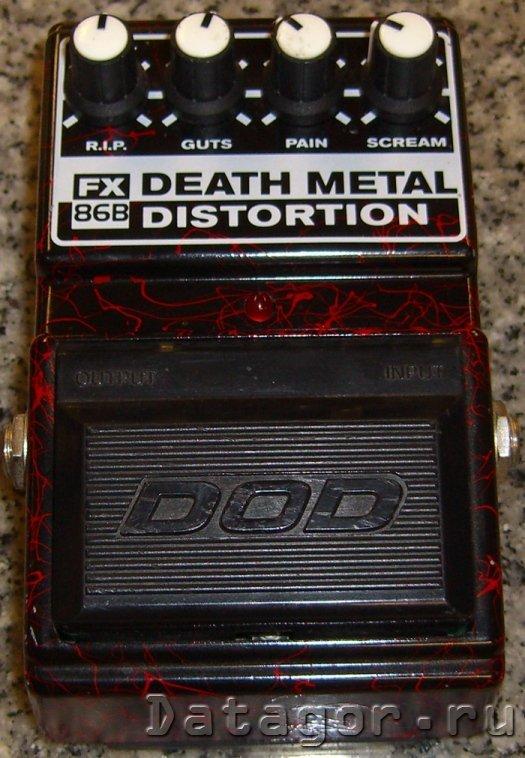 Гитарная примочка DOD Death