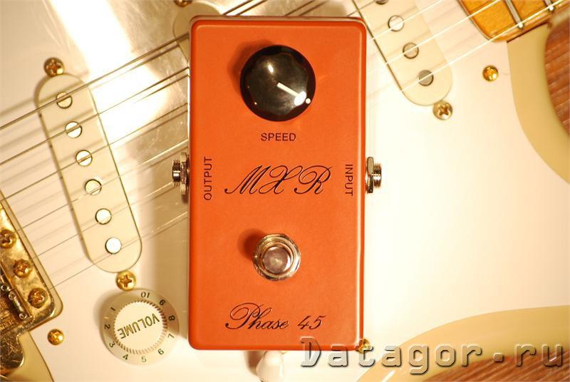 Простая гитарная примочка MXR