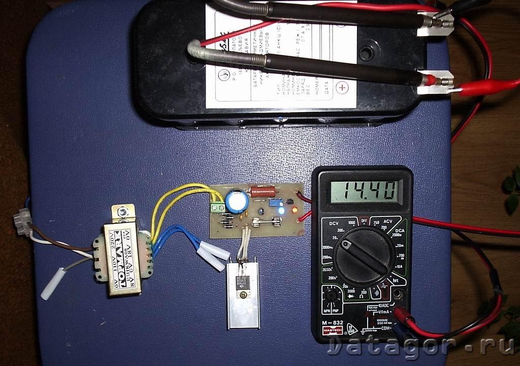 Зарядные устройства для акб своими руками