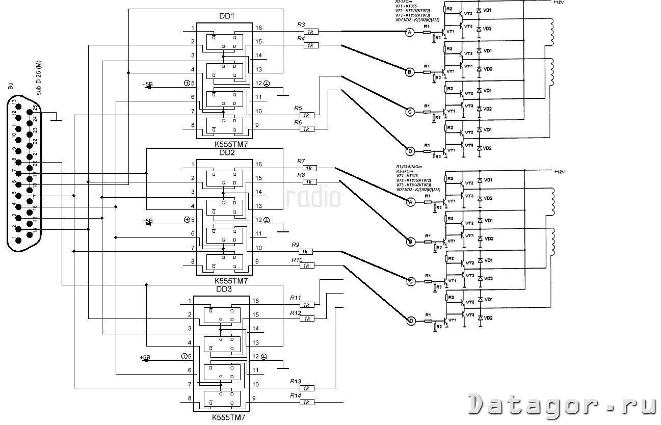 Автономный контроллер шагового двигателя своими руками 92