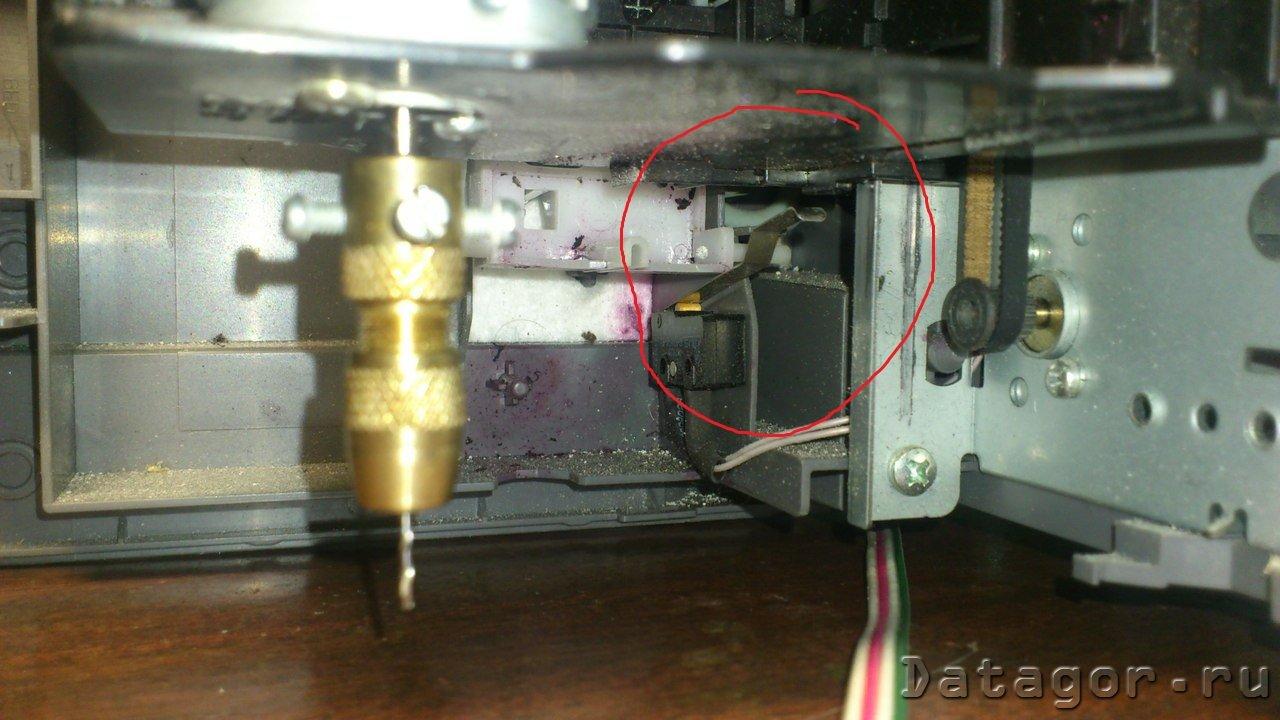 hp принтер схема