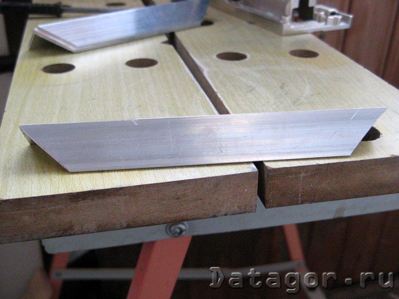 Изготовление корпусов из алюминия своими руками 49