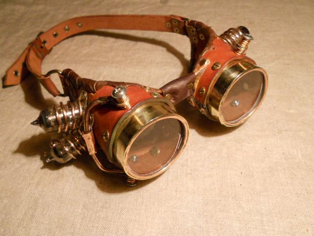 Steampunk очки своими руками 48