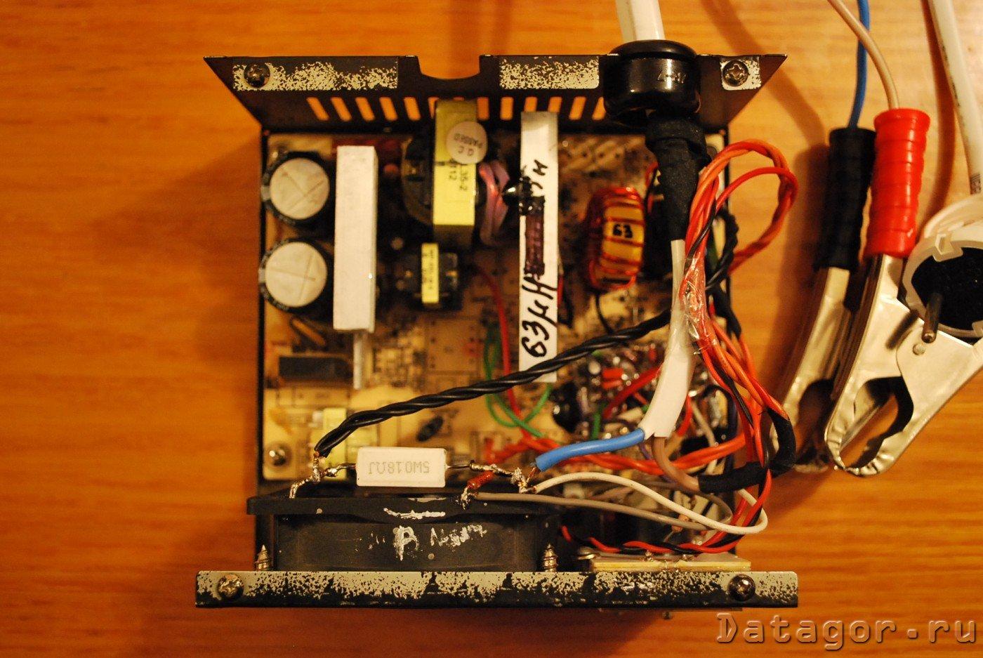 Из компьютерного блока питания - лабораторный и зарядное 19