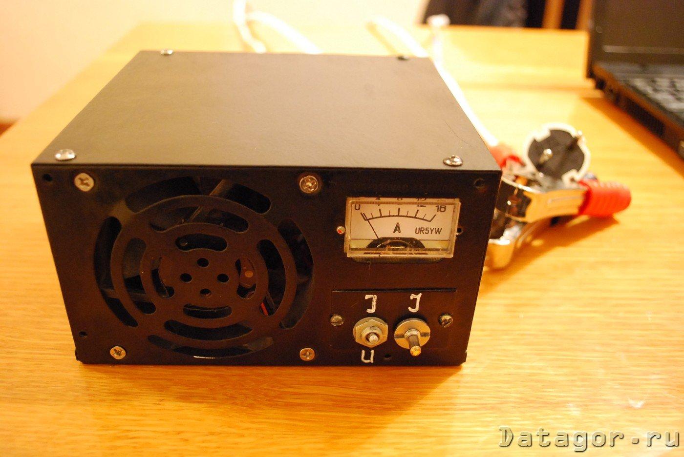 Из компьютерного блока питания - лабораторный и зарядное 25