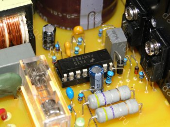 ������ ����������� ���� ������� �� FAN7621. LLC resonant power supply