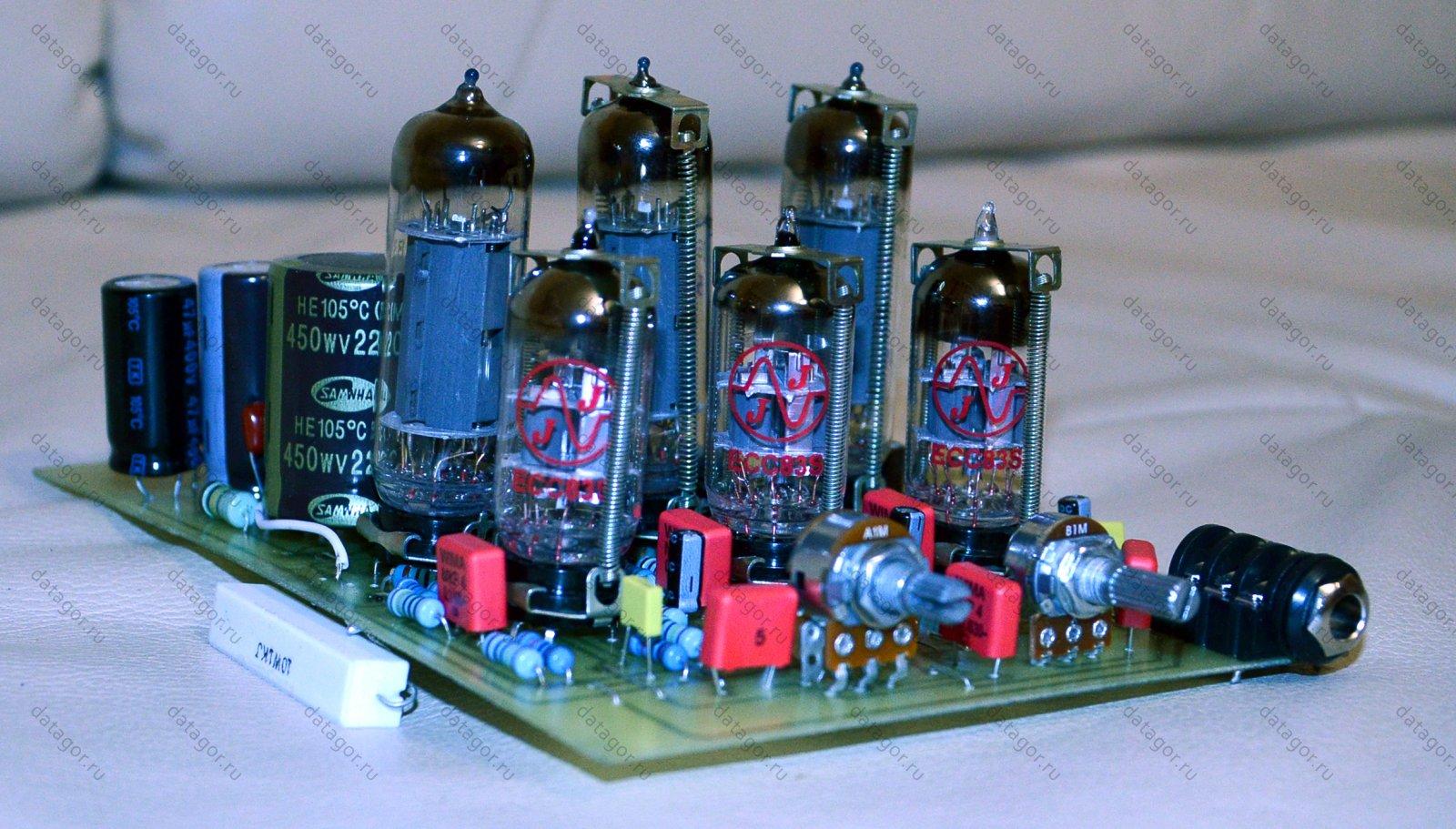 четкая схема усилителя амфитон 50у 202с