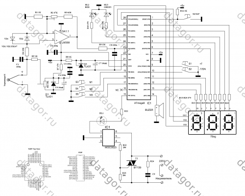 Паяльная станция на микроконтроллерах своими руками 904
