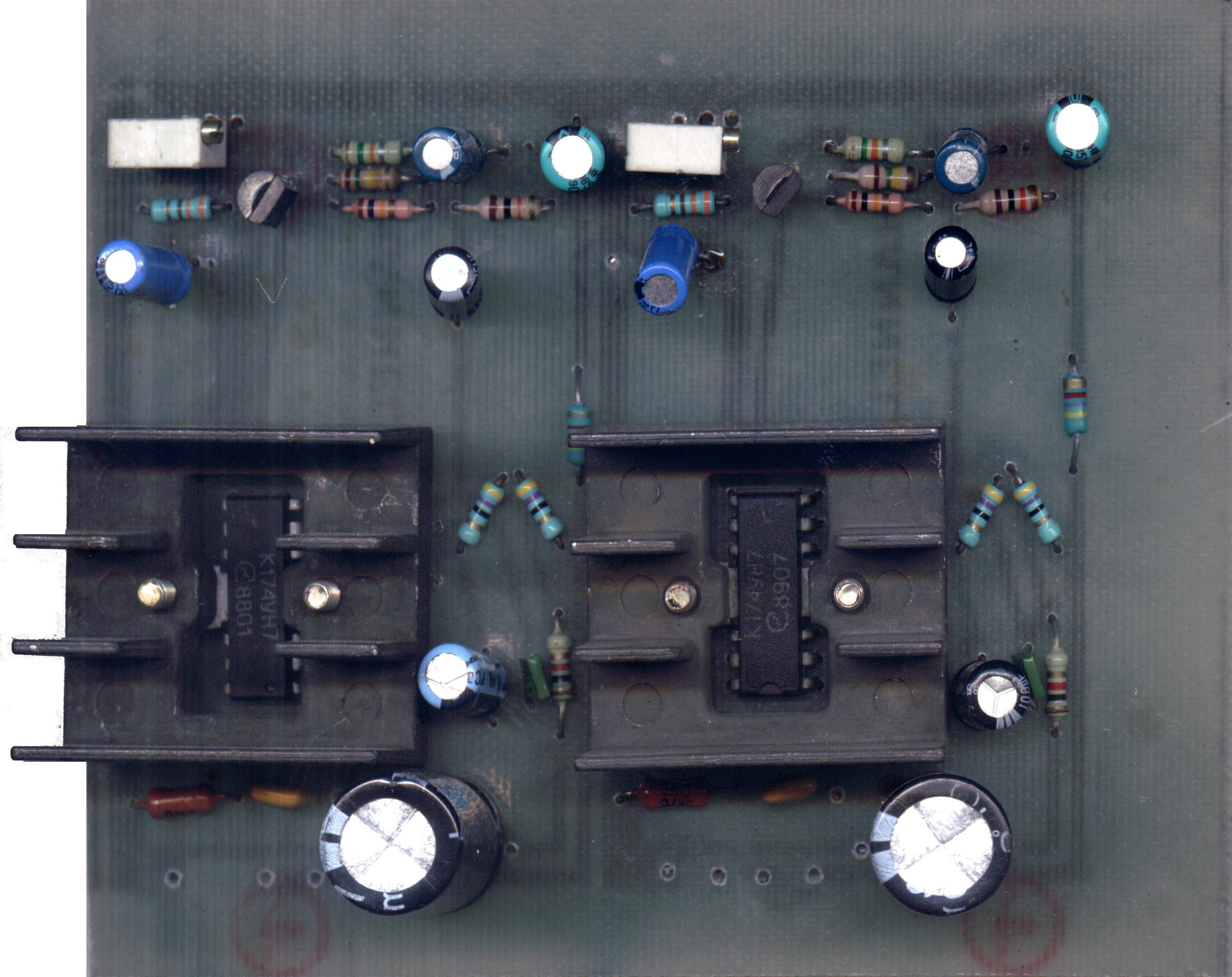 усилитель для наушников схема на 6н23п