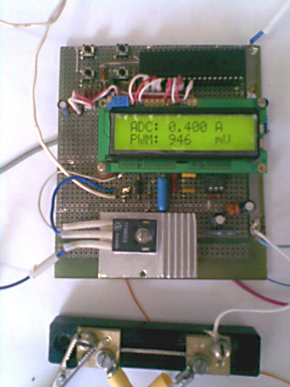 схема тиристорного регулятора электродвигателя