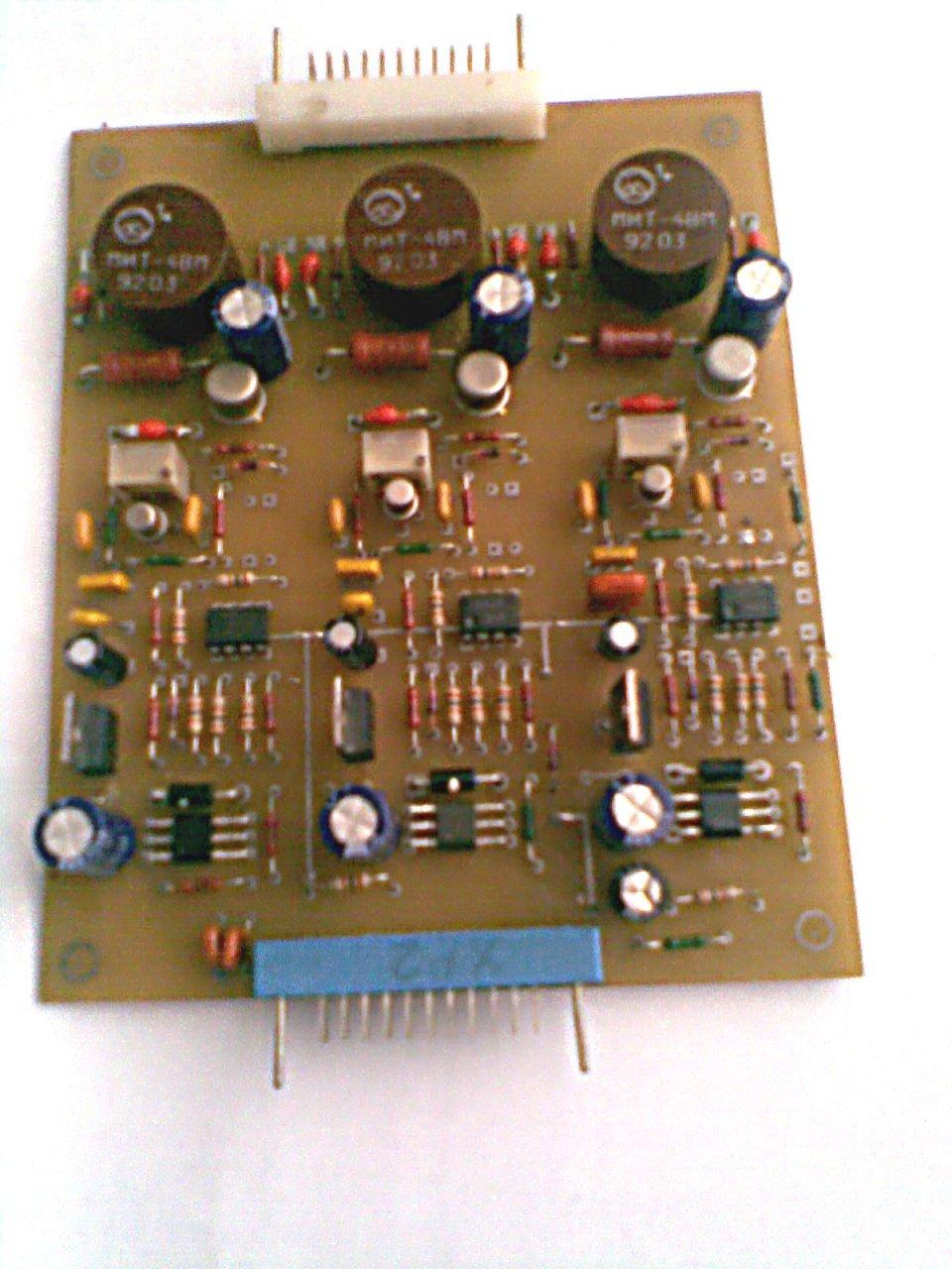 схема управления трёхфазным моторчиком