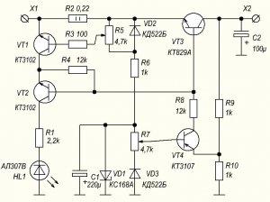 Регулируемый стабилизатор напряжения тока схема стабилизатор напряжения харьков цена