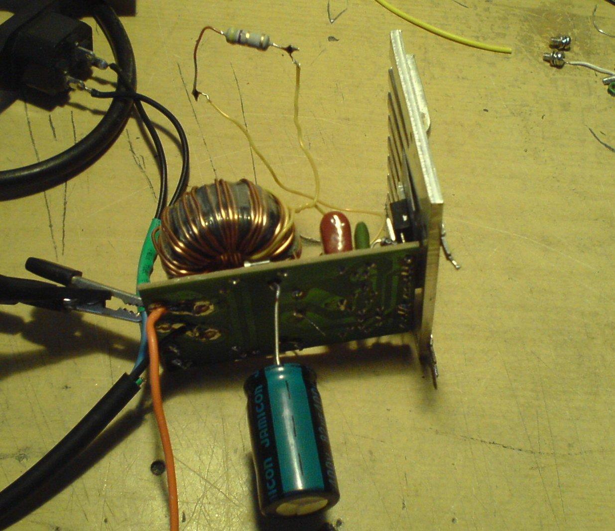 схема электронного трансформатора 12 вольт