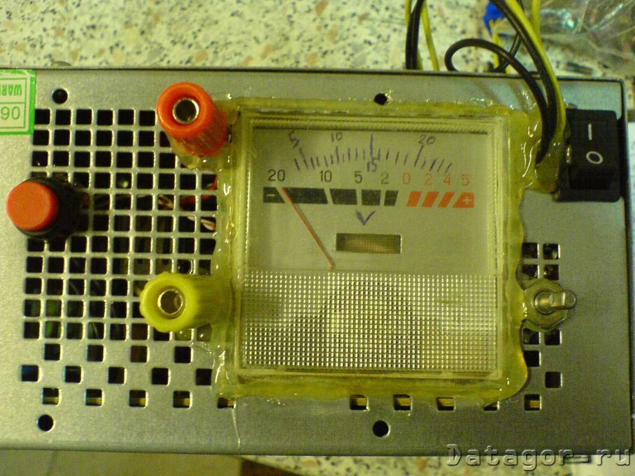 простая схема переделки б.п.atx в лабораторный