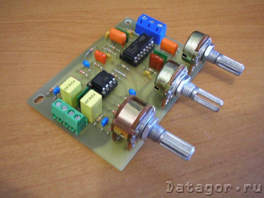 темброблок двухполосный активный 12 вольт схема