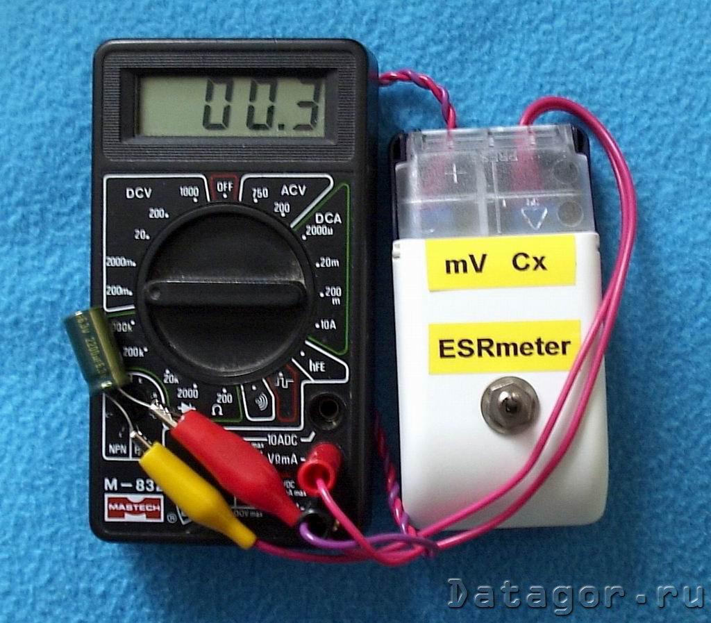 схема измеритель lc на atmega8