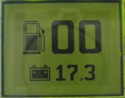 Цифровой указатель уровня топлива своими руками