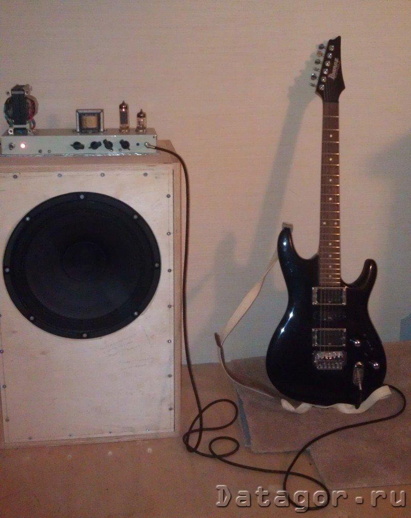 схема простой перегруз гитара