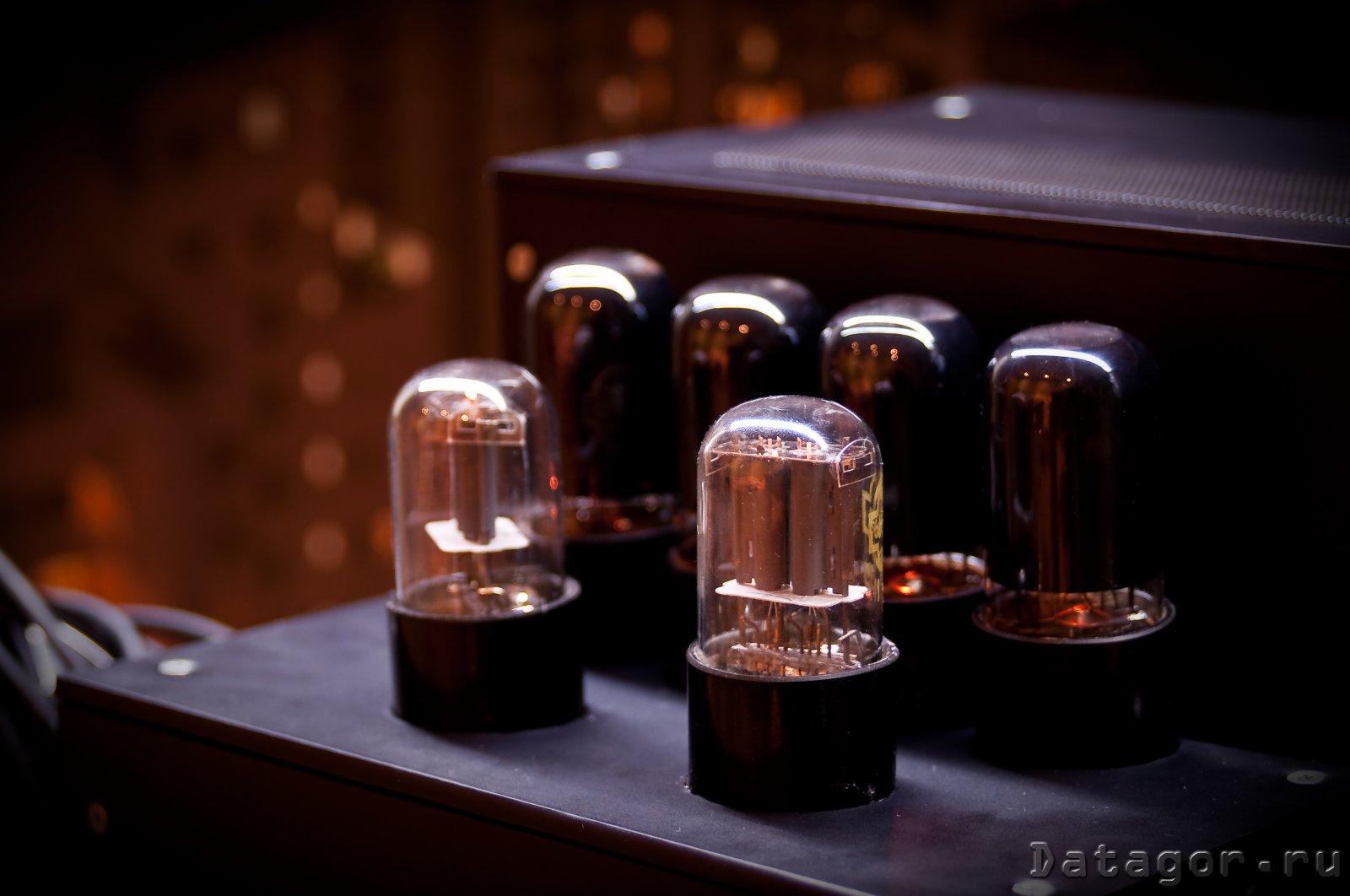 гитарный усилитель на диодах схема
