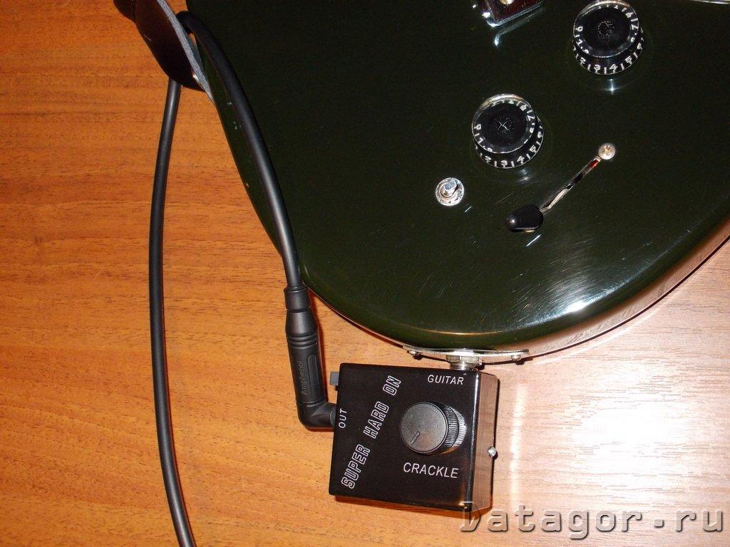 электронная схема на электрогитару