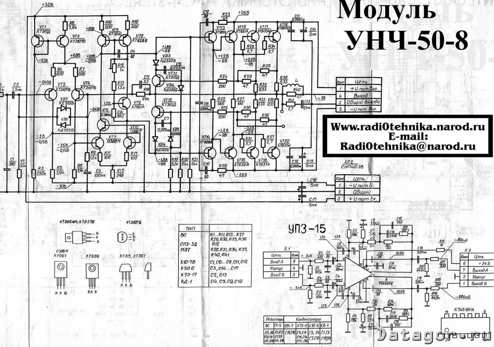 Ламповые УНЧ на трансформаторах ТАН