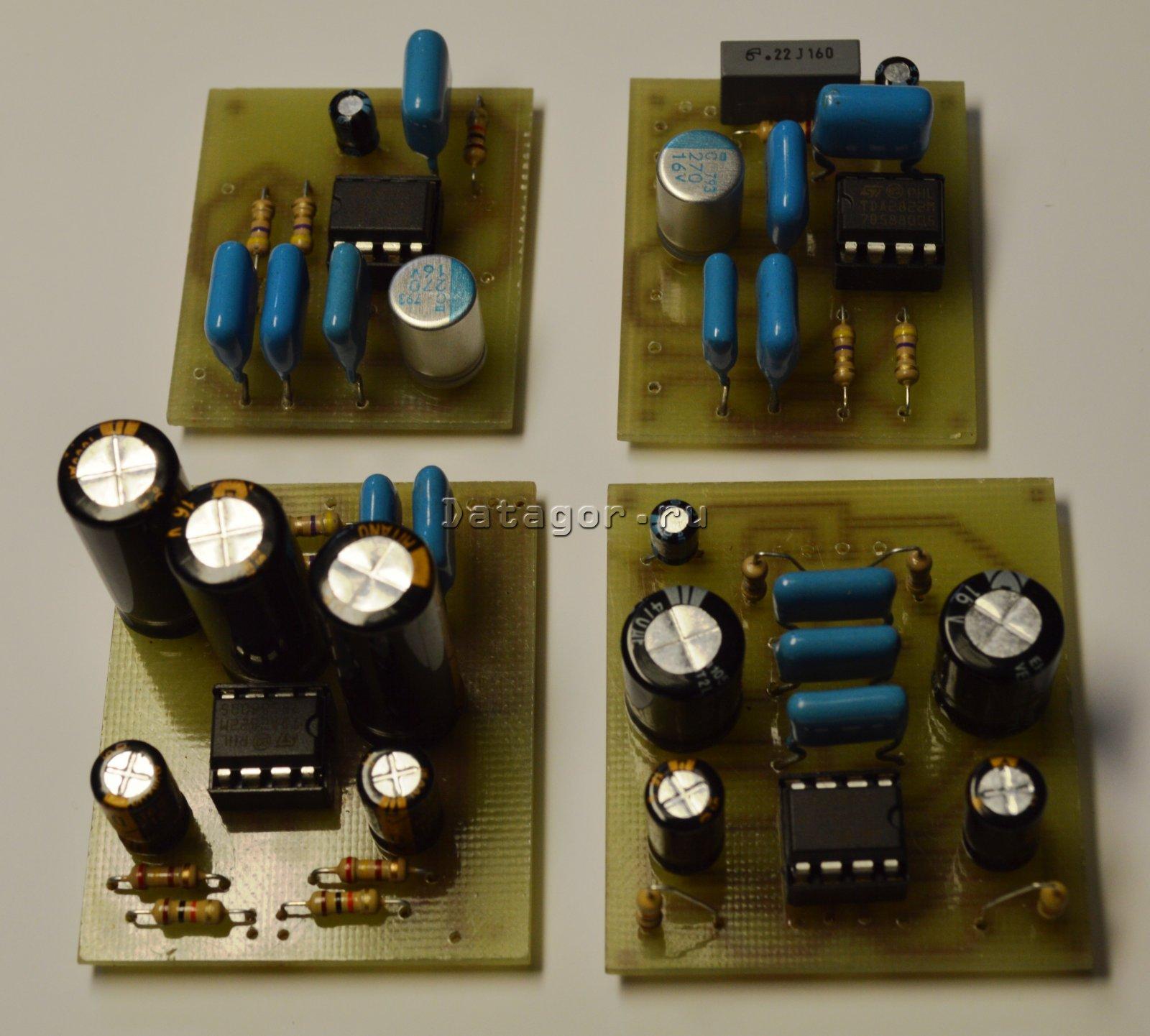 транзисторная схема на основе дифференциального каскада