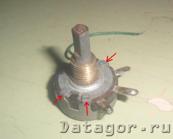 Ремонт переменного резистора своими руками