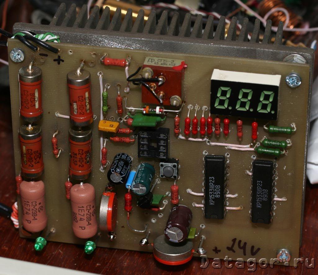 ремонт-схема-зарядное устройство зу-120м-3