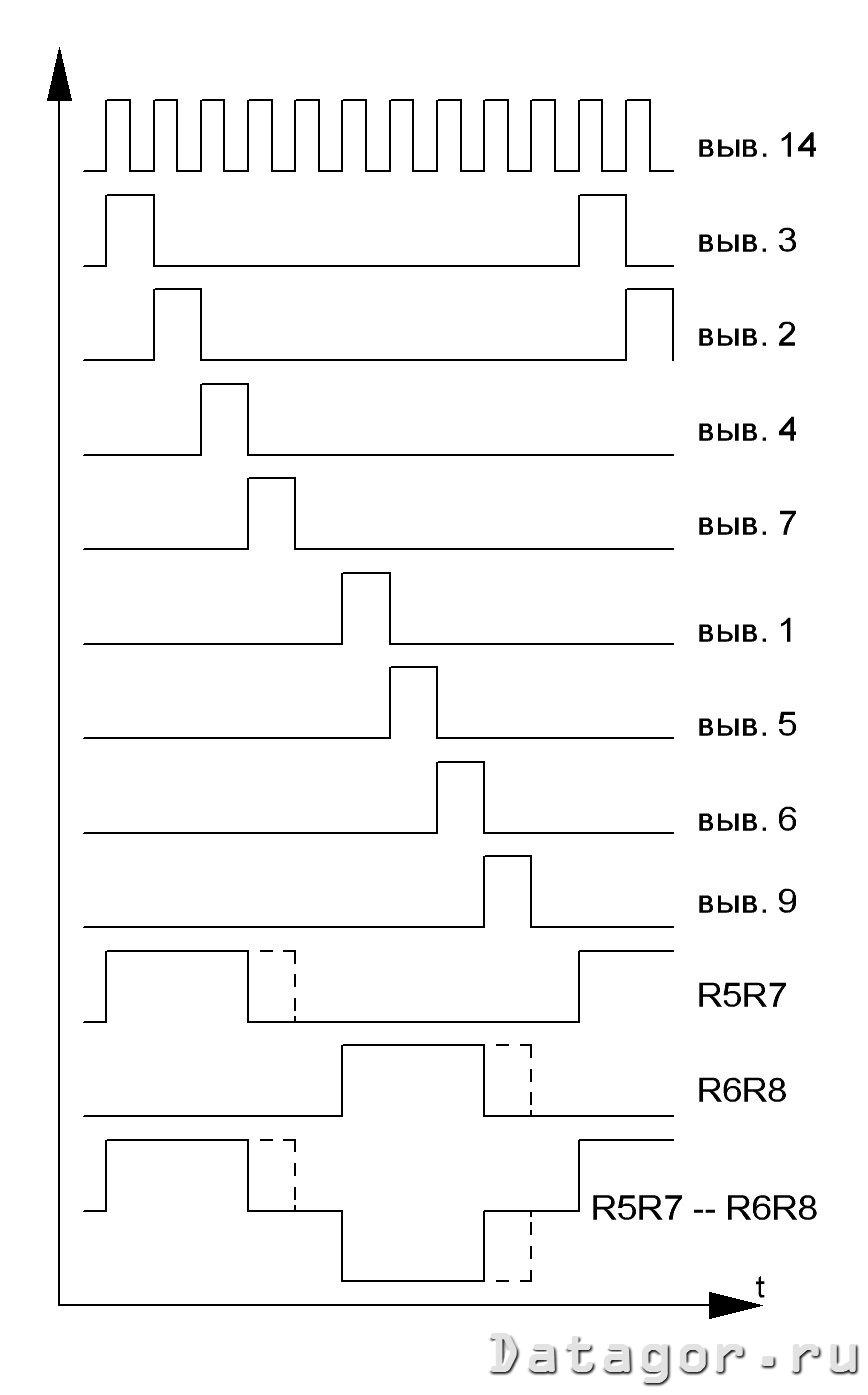 схема преобразователя на микросхеме