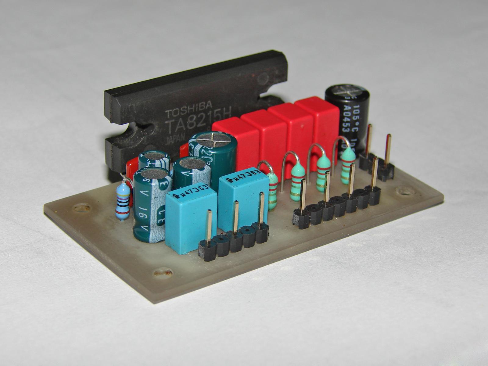 электрическая схема усилителя для сабвуфера