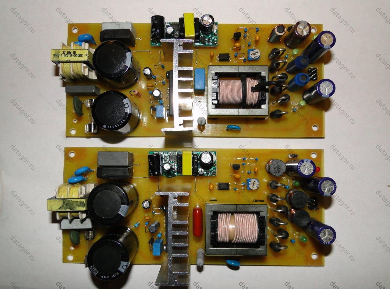 схема импульсного блока питания на микроконтроллере
