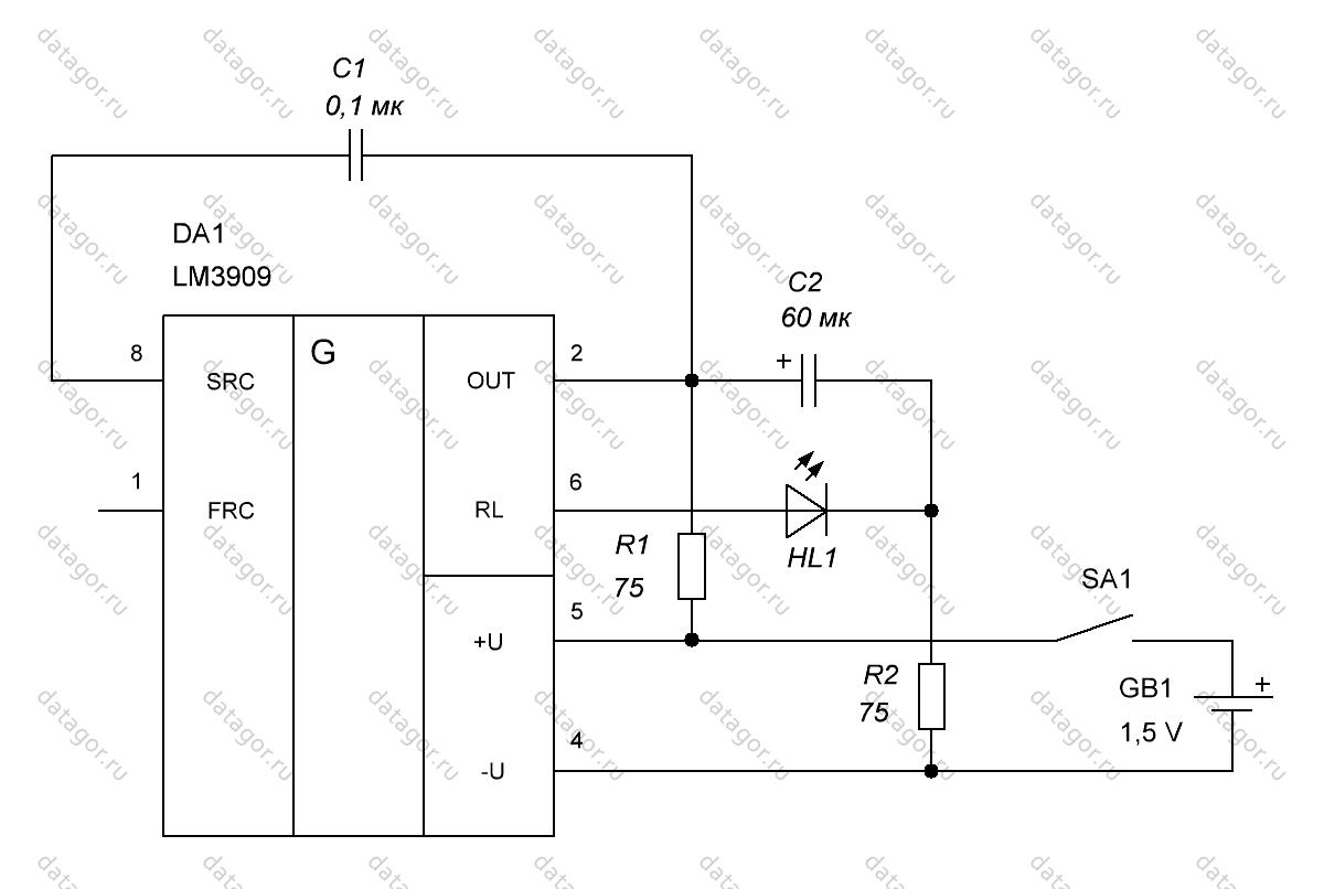 коммутатор на цифровых микросхемах схема