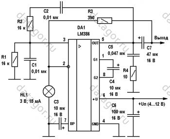 Схема генератора синусоидальных сигналов фото 47
