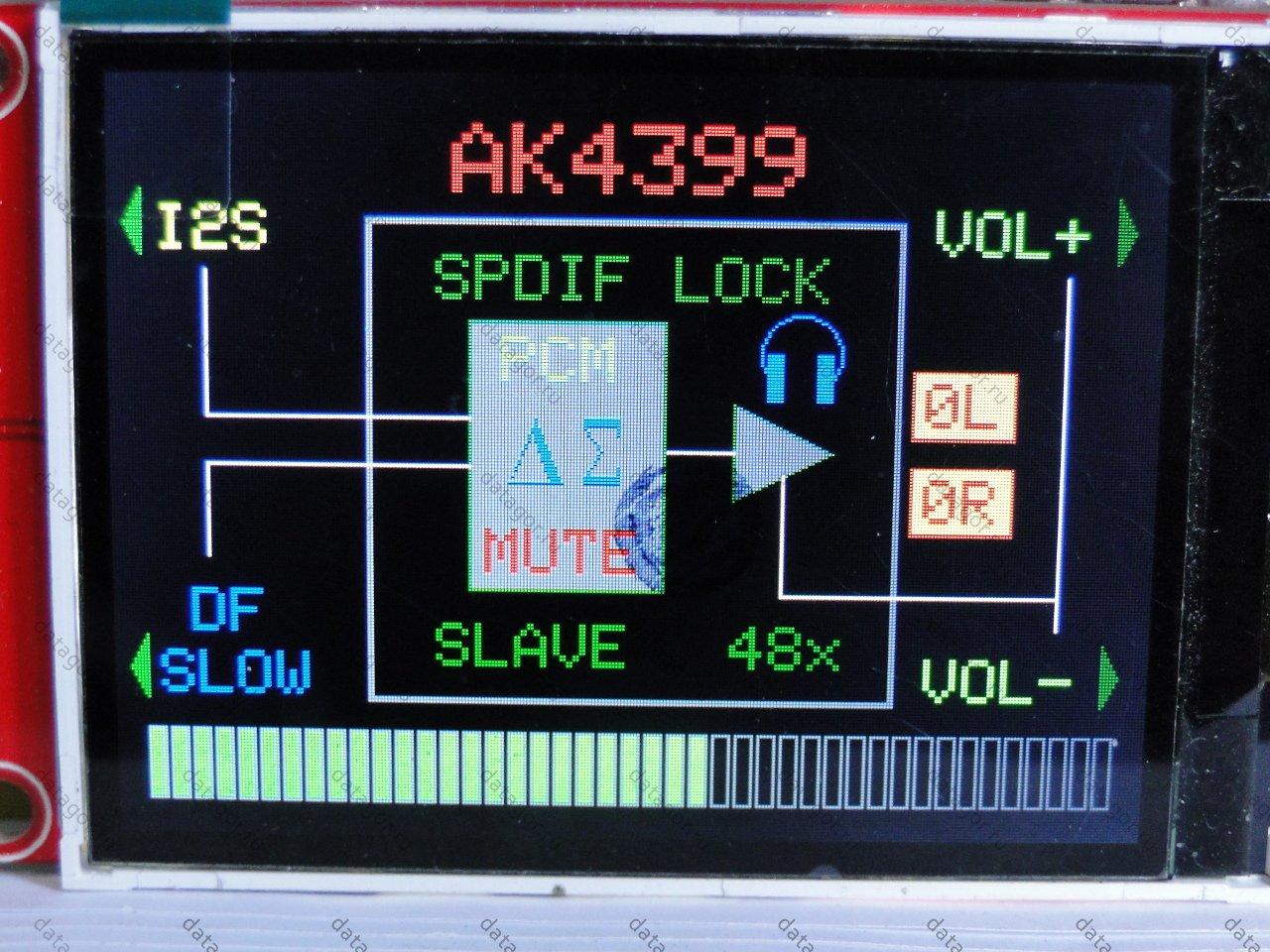 схема простого аудио цап
