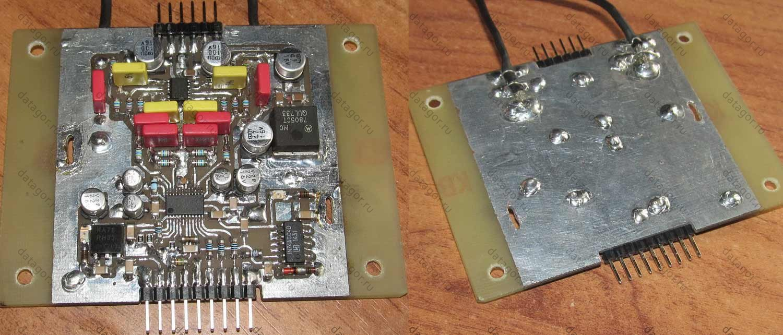 внешний usb-цап схема
