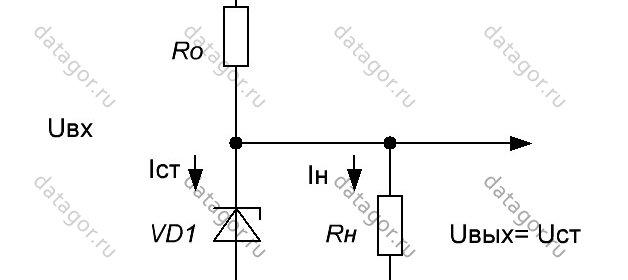 Расчет параметрический стабилизатор напряжения каталог стабилизаторов напряжения
