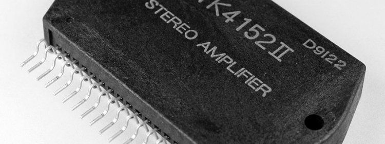 Запуск платы УНЧ SONY 1-650-839-11 Power AMP на STK4152 от музцентра SONY